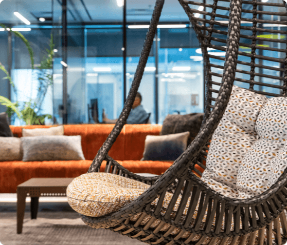 open space facilities swing chair